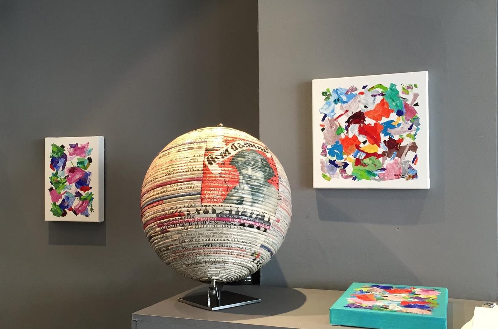 Alexandra De Grave Exposition Xavier Ronse gallery