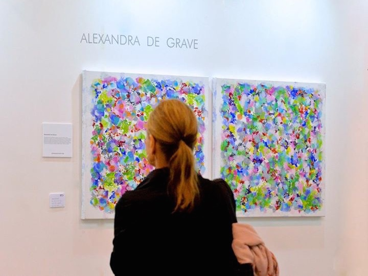 Alexandra De Grave Exposition Affordable art fair Hong Kong