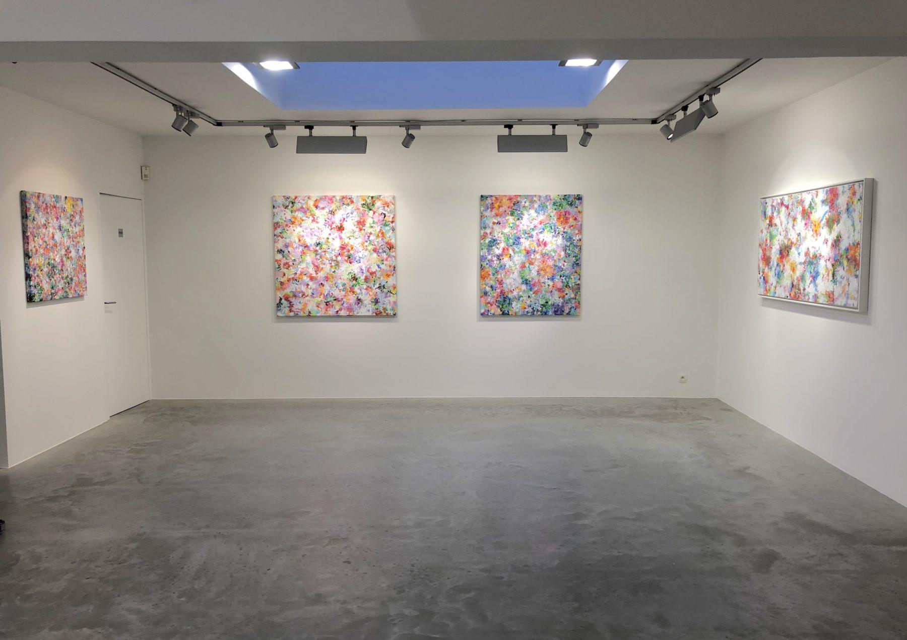 Alexandra De Grave exposition galerie florence rasson
