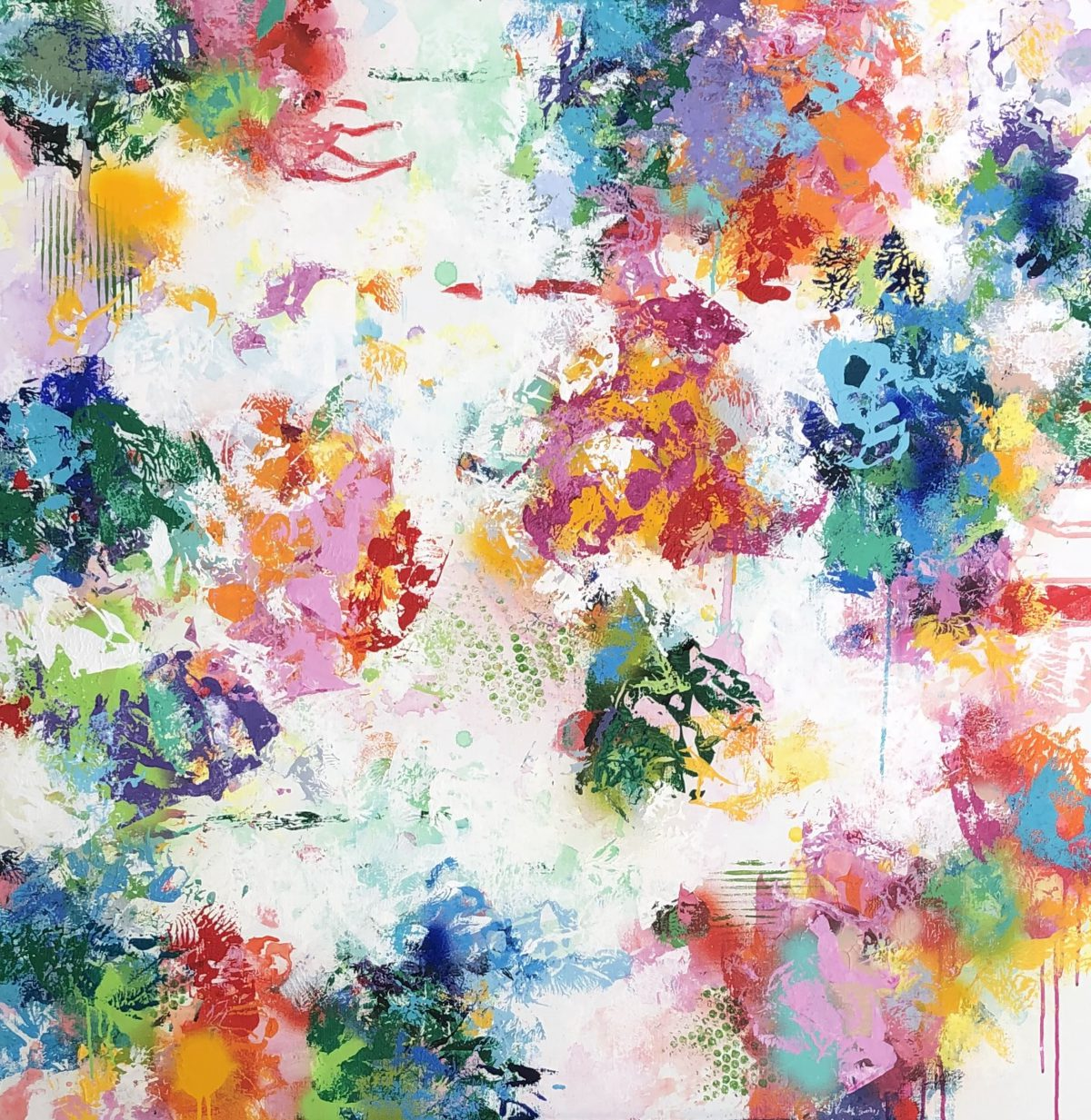Alexandra De Grave artiste peintre painting artist